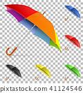 Set Realistic Umbrellas 41124546