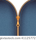 Zipper Realistic Background 41125772