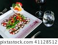 carpaccio, food, octopus 41128512