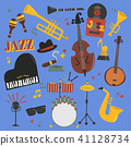vector, music, jazz 41128734