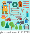 vector, illustration, equipment 41128735