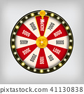 background, isolated, roulette 41130838