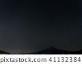 富士山(十二月双子座流星雨河口湖) 41132384
