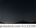 후지산 (12 월 쌍둥이 자리 유성우 가와구치) 41132386