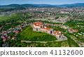 castle, building, hill 41132600