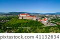 castle, building, hill 41132634