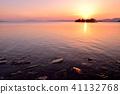 lake shinji, sunset, scape 41132768