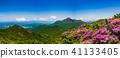 Miyama Kirishima in full bloom and fresh green mountain in Kirishima 41133405