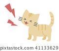 แมว,สัตว์,ภาพวาดมือ สัตว์ 41133629