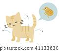 แมว,สัตว์,ภาพวาดมือ สัตว์ 41133630