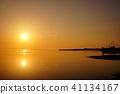 萨罗玛湖的晚上风景 41134167