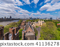 Aerial view of Lambeth Palace 41136278