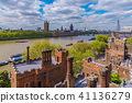 View of Lambeth Palace and River Thames 41136279