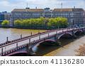 View of Lambeth bridge in Westminster 41136280