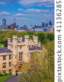 Lambeth Palace architecture with city buildings 41136285