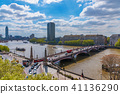 View of Lambeth bridge and River Thames 41136290