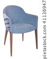 Soft armchair isolated 41136947