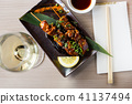 japanise grilled chicken barbecue 41137494