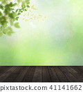 Background - Fresh green - Wood deck 41141662