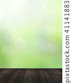 Background - Fresh green - Wood deck 41141883