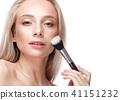 brushes, makeup, female 41151232
