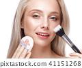 brushes, makeup, female 41151268