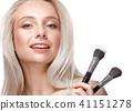 brushes, makeup, female 41151278