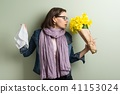 Spring allergy to pollen. 41153024
