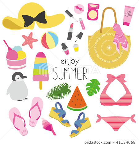 夏季时装插画 41154669
