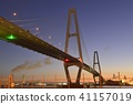 meiko central bridge, meiko trion, cable-stayed bridge 41157019