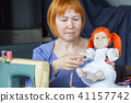 Making of handmade toys 41157742