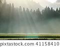 有霧的 霧 薄霧 41158410