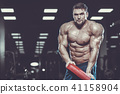 bodybuilder gym male 41158904
