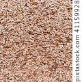Plantago ovata, plantain seeds background 41159928
