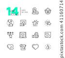 design, icon, line 41160714