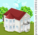 house big vector 41160931