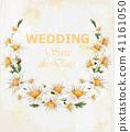 flower, card, chamomile 41161050