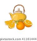 orange, illustration, tea 41161444