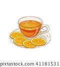 orange, illustration, tea 41161531
