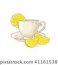 lemon, illustration, vector 41161538