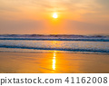 쿠쥬 쿠리 해변의 일출 (치바현 大網白里시 백리 해안) 41162008
