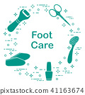 Tools for pedicure Personal care. 41163674