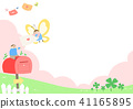 Vector - Welcome spring. Enjoy spring time illustration 008 41165895
