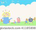 Vector - Welcome spring. Enjoy spring time illustration 010 41165898