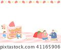 Vector - Welcome spring. Enjoy spring time illustration 006 41165906
