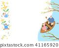 Vector - Welcome spring. Enjoy spring time illustration 007 41165920