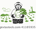 Vector illustration for People who Agricultural and Marine Producer 004 41165935