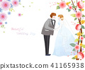 Vector - Couple in love, event day concept illustration 010 41165938