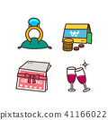 Vector - Related to life and daily flat icon set. 002 41166022