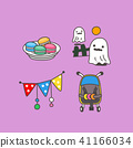 Celebration icons set for event day vector illustration 023 41166034